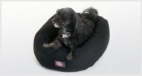 Majestic Nesting  Bagel Dog Bed