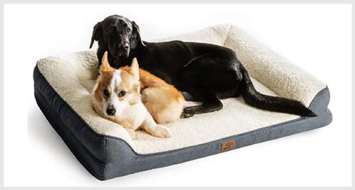 4. BEDSURE Orthopedic Pet Sofa Bed