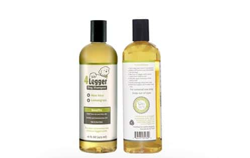 4Legger Organic Dog Shampoo - All Natural and Hypoallergenic with Aloe