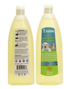 Particular Paws Hypoallergenic Dog Shampoo