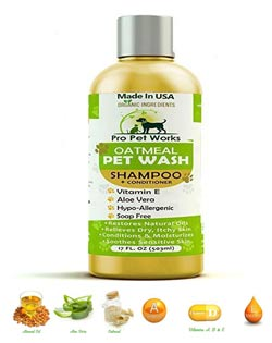 Pro Pet Works Organic Oatmeal Shampoo