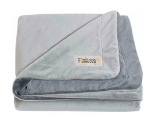 Friends Forever Deluxe Dog Blanket Throw