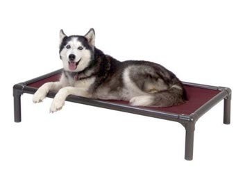 Kuranda Dog Bed - Chewproof Design - Walnut PVC