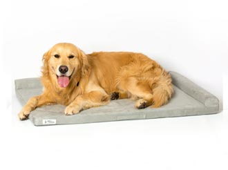 PetFusion PuppyChoice Dog Crate Pad [Microsuede Cover, Solid Foam]