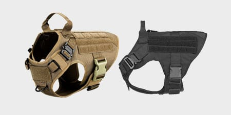 ICEFANG Tactical Chew Proof Dog Harness