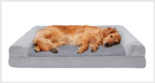 FURHAVEN Sofa-Style Orthopedic Dog Bed
