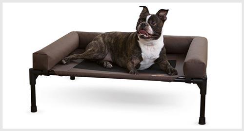 K&H Elevated Bolster Dog Bed