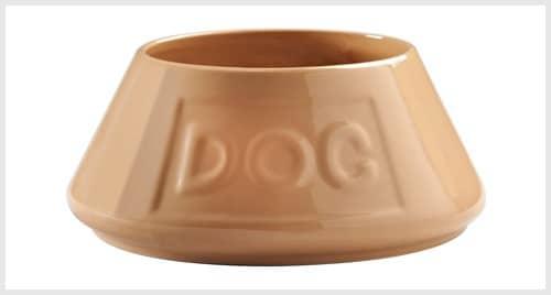 Mason Cash Cane Non-Tip 8-Inch Lettered Dog Bowl