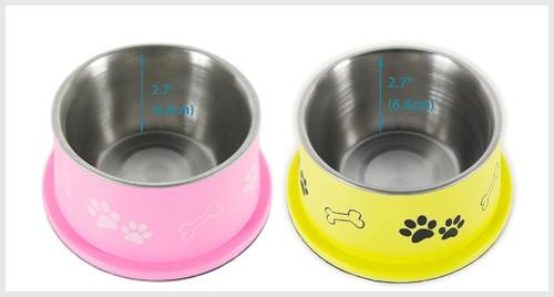 PETISH Spaniel Bowl for Long Ear Dog Bowls,