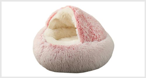 cave bed for dogs that burrow